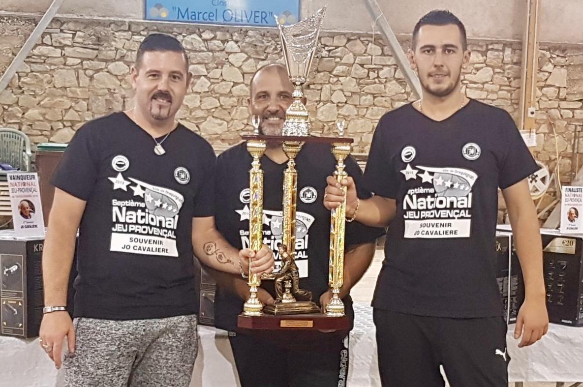 """Stéphane COLOMBO, Richard PERRIER, Kévin ONDE, remportent le 2ème Souvenir """"Jo CAVALIÈRE"""""""