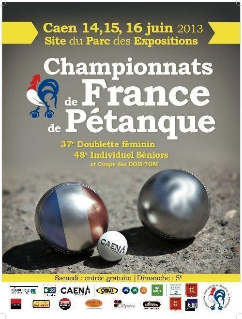 Championnat de France tête à tête 2013 à Caen