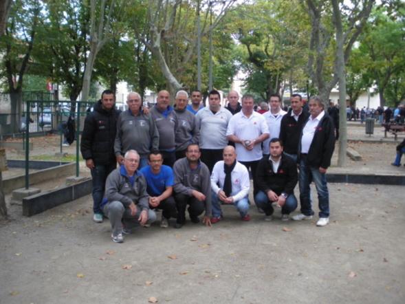 demi-finale contre Canet d'Aude