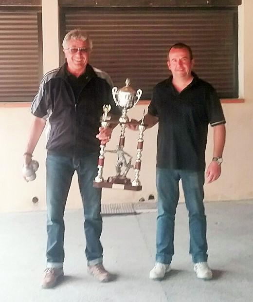 Gérard Trémollière et Marc Fabre, lauréats du challenge des disparus