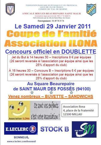 Coupe de l'Amitié Association ILONA