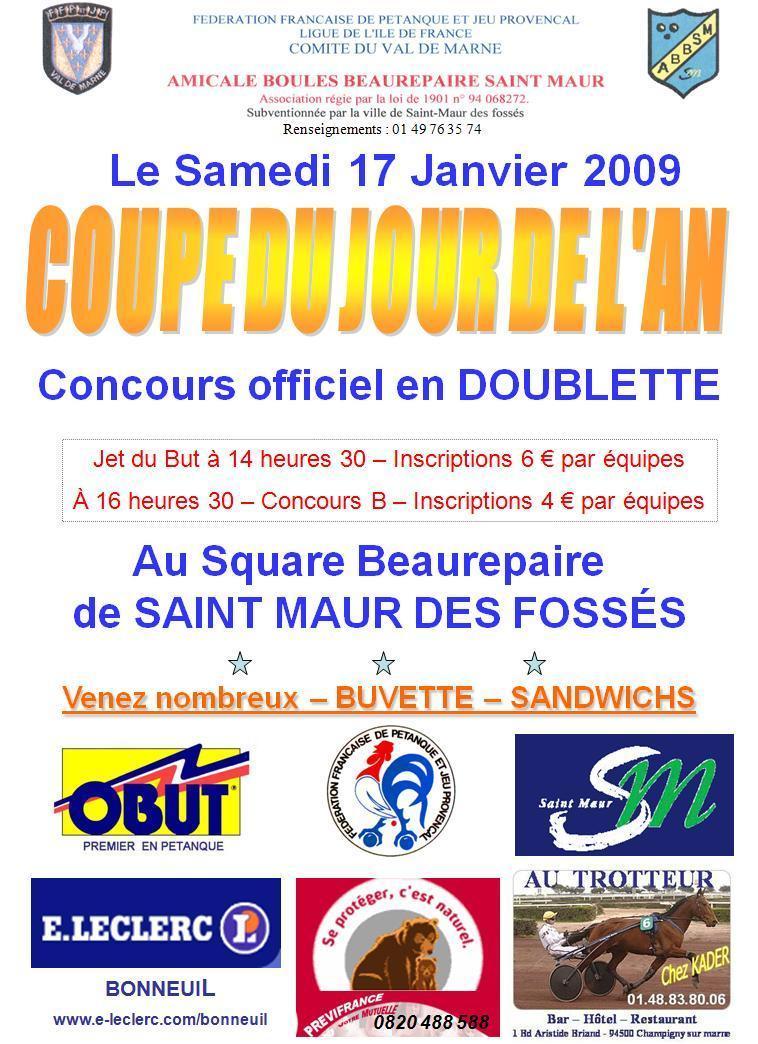 Coupe du jour de l'an samedi 17 janvier 2009