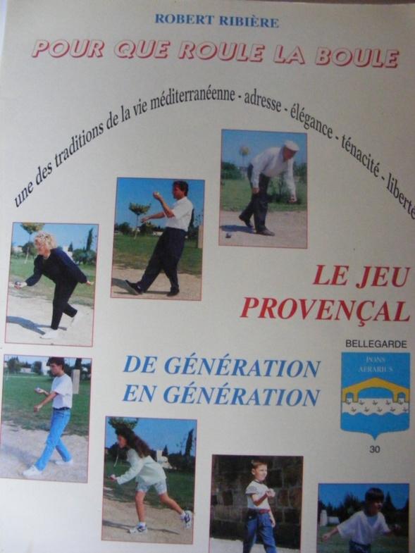 Son magnifique Livre sur le Jeu Provençal