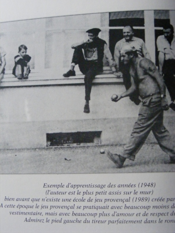L'enfant et la Longue à Saint Gilles (1948)