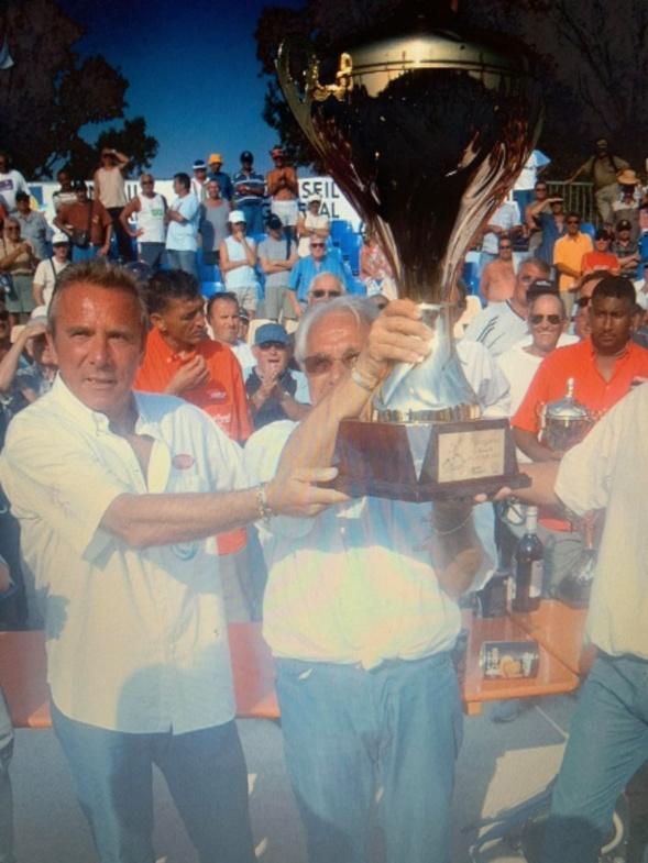 2004 3éme Provençal avec Dédé Massoni et Philippe Roux, la Coupo Santo, quelle belle équipe !