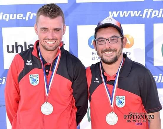 Romain Nambot et Thomas Rabat le sourire et l'audace de ce championnat ! Quel talent les deux jeunes charentais ! Bravo aux vice champions de France 2019