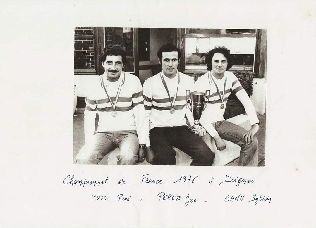 Les Tricolores à Digne 1976