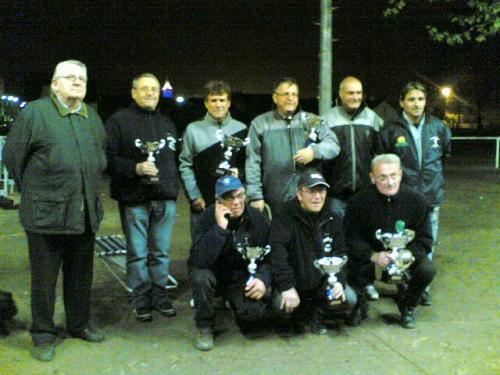 Championnat triplette vétéran 2010