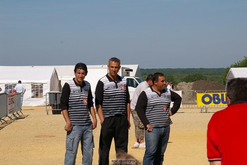 Championnat de france TRIPLETTE 2010