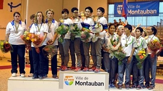 Championnats du Monde féminin à Montauban