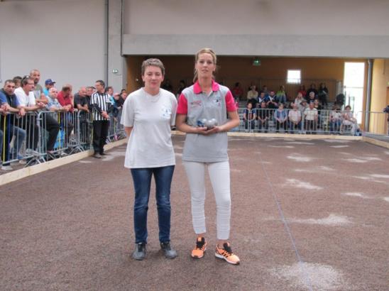 Championnat de ligue doublette senior et tête à tête féminine