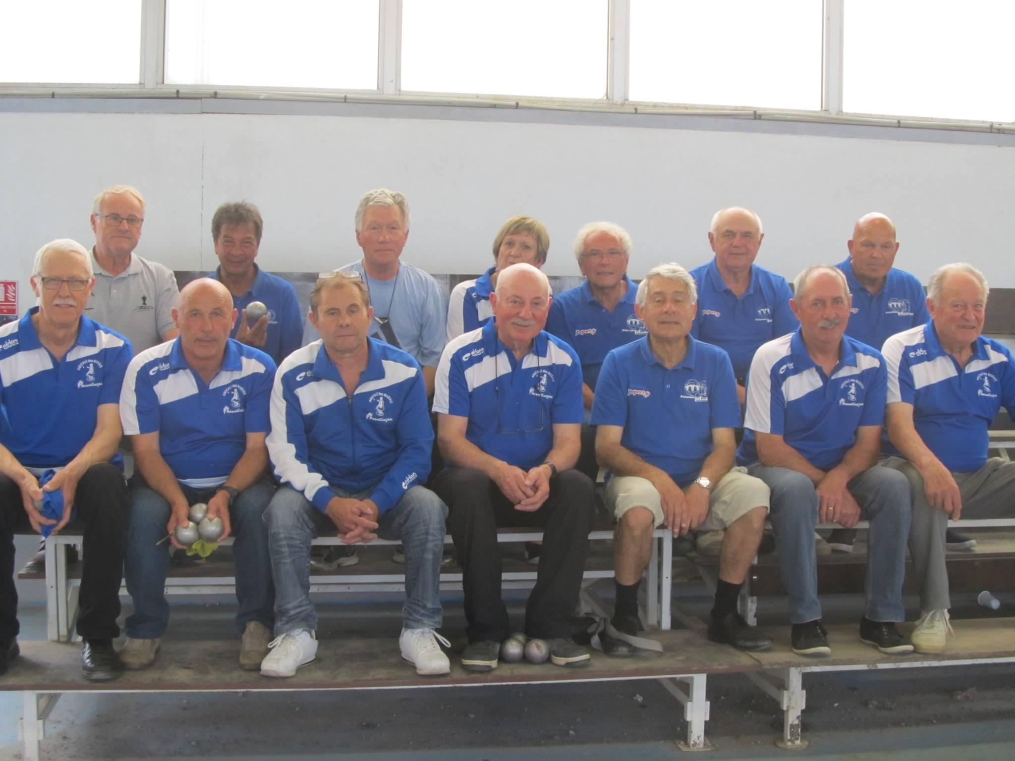 Championnat des clubs veterans elites