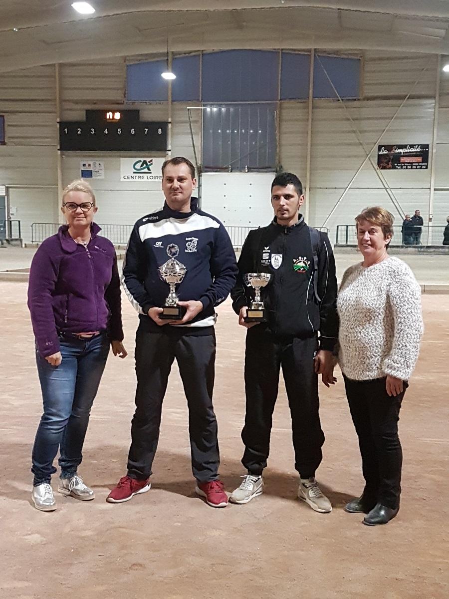 Champion de Nièvre David Boës face à Christpher Ross