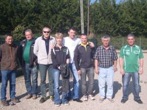 Championnnat  des Clubs  1ère Div  gr.B      1ère Journée du  08/03/14