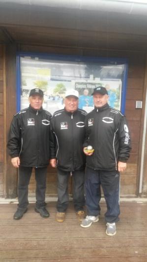 Qualification Triplette Vétérans 2015