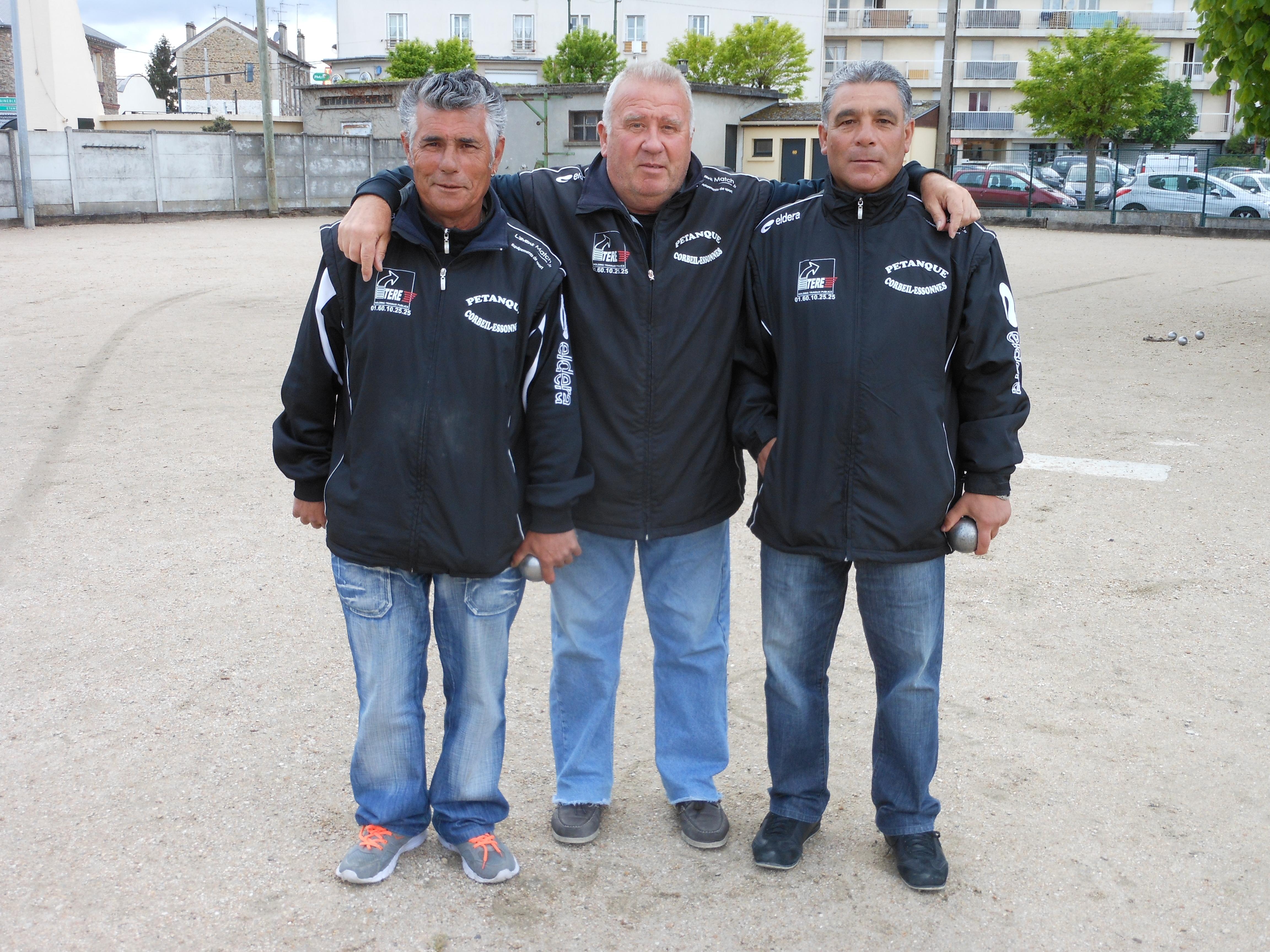 Qualification et championnat Triplette Vétérans 2014