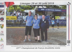 CHAMPIONNAT FRANCE MIXTE 2019