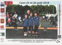 CHAMPIONNAT FRANCE JEUNES 2018