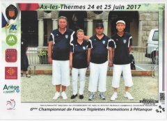CHAMPIONNAT FRANCE PROMOTION 2017