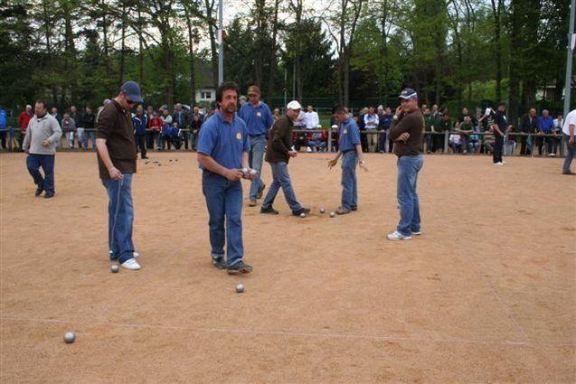 Championnats d'allier Triplettes à Bellerive