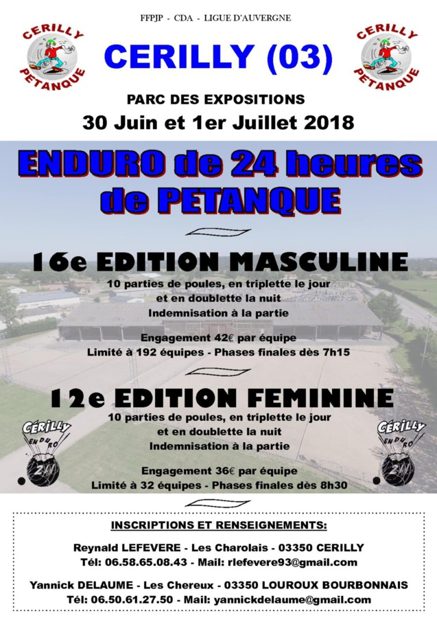 ENDURO 30 Juin et 1er Juillet 2018