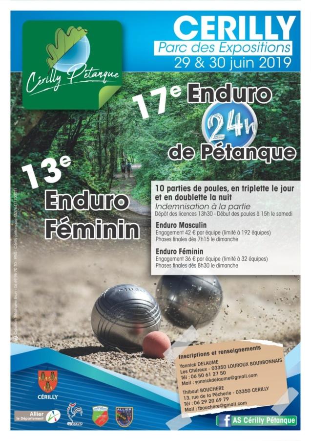 Affiche officielle Enduro 2019