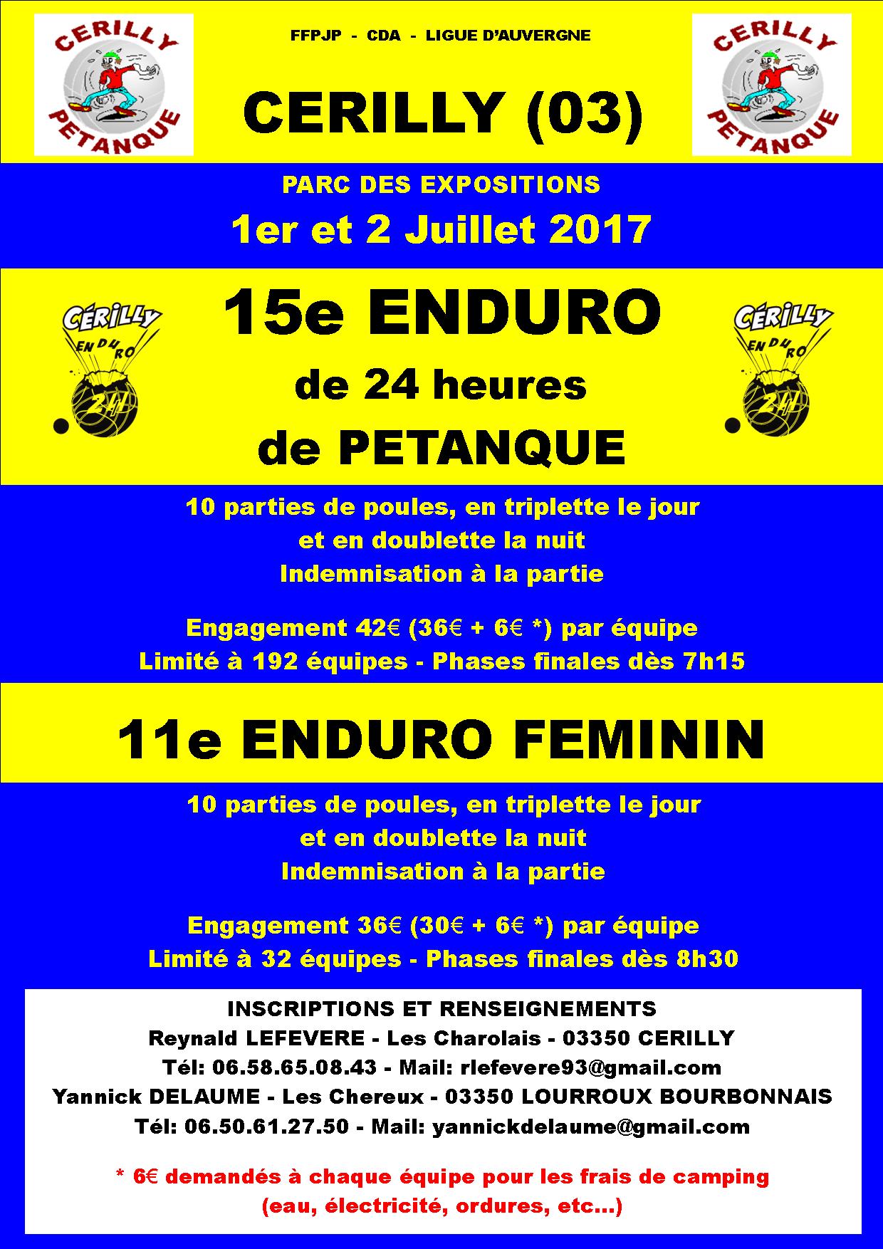 ENDURO 2017