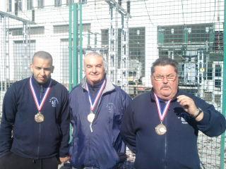 Championnat de L'Hérault Triplette Provençal 2010