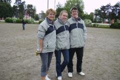 Nadine, Bérengère et Corinne