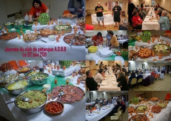 Journée du club de pétanque le 02 juin 2011 à Bidart