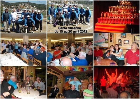 Santa Susanna en Avril 2012, pour le 4ème Bol d'or vétérans