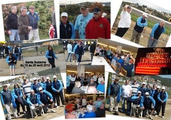 Santa Susanna en Avril 2012, pour le 4ème Bol d'or vétérans (2)