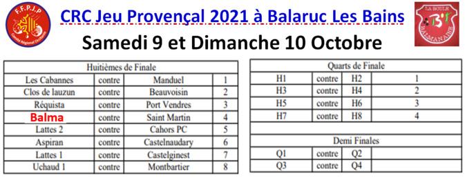 CRC JP Phase finale à Balaruc Les Bains