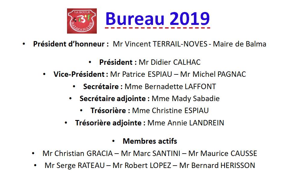 Bureau 2019 LBB