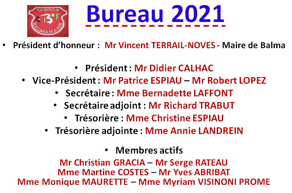 Bureau 2021