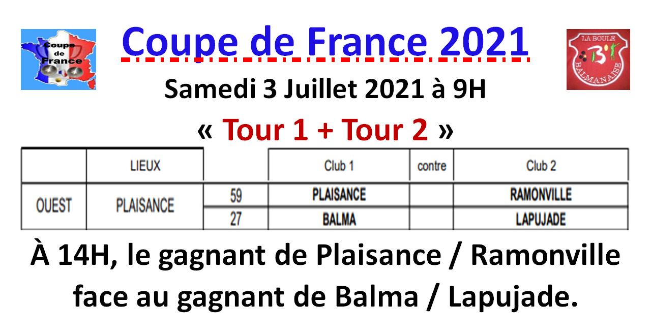 Coupe de France 03/07/2021