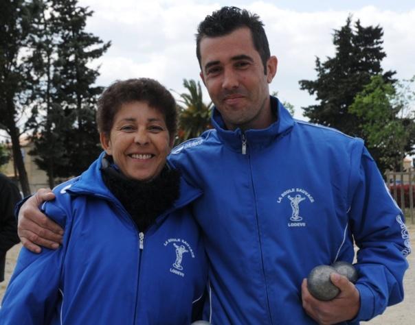 Championnat de l'Hérault Doublette Mixte 2016