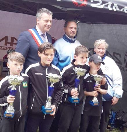 Championnat départemental X2 Jeune à Carrières
