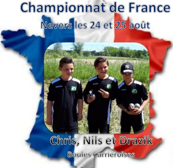 Championnat de France: Drazik, Chris et Nils