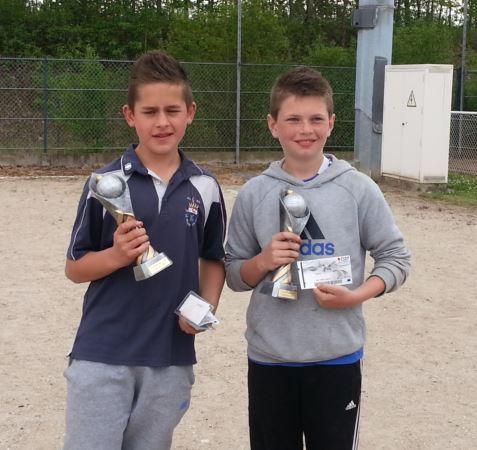 Championnat Départemental Doublettes Jeunes