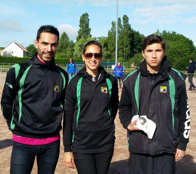 Championnat Départemental Triplette Mixte 2017 (Montigny le Bretonneux)