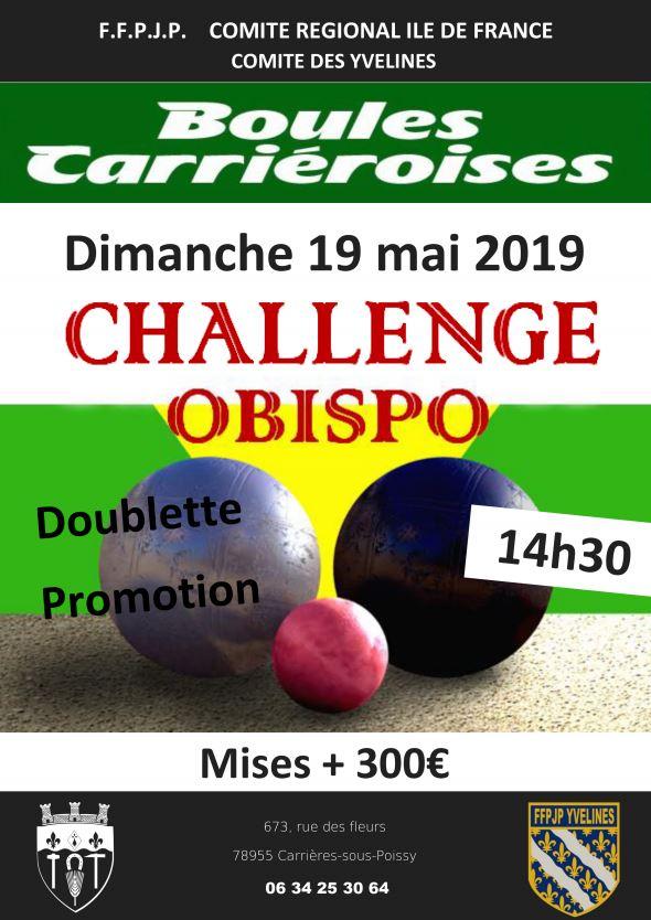 """Challenge """"Obispo"""""""