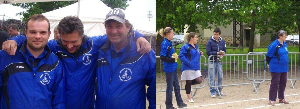 Championnat Triplettes TC Sénior à Aubergenville