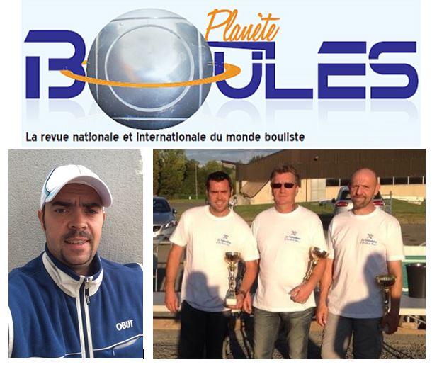 """Benoit dans """"Planête Boules"""""""