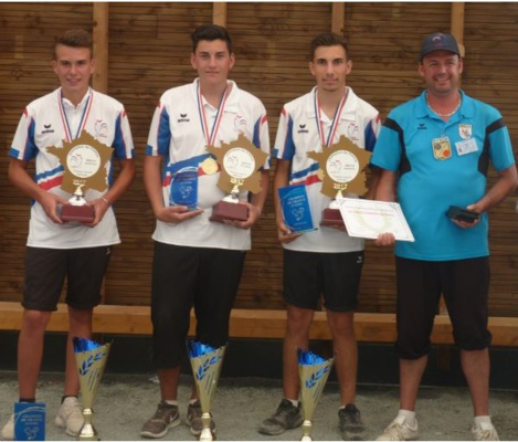 Marius Enzo et Benoit CHAMPIONS DE FRANCE juniors