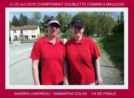 Championnat doublette masculin féminin