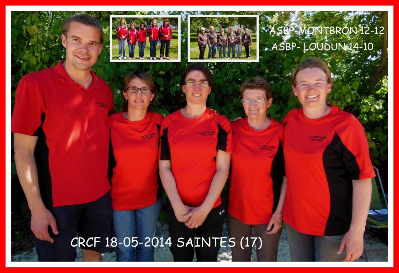 Résultats 1ère journée CRC féminin