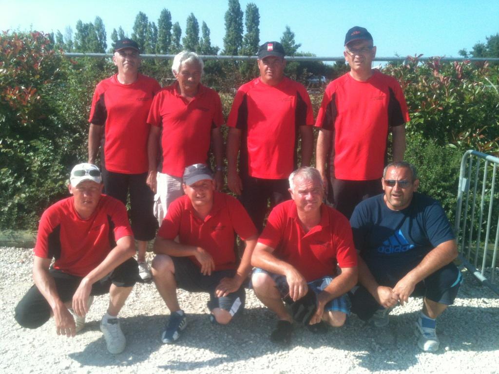 Résultat championnat des clubs départemental masculin