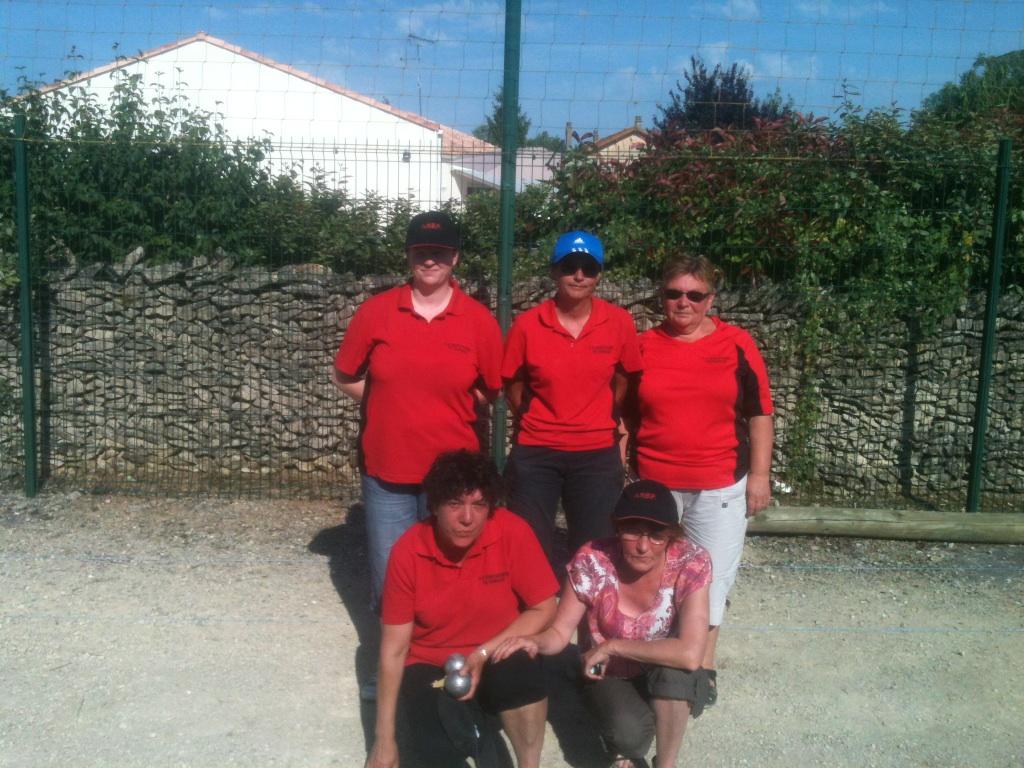 Résultat championnat des clubs départemental féminine
