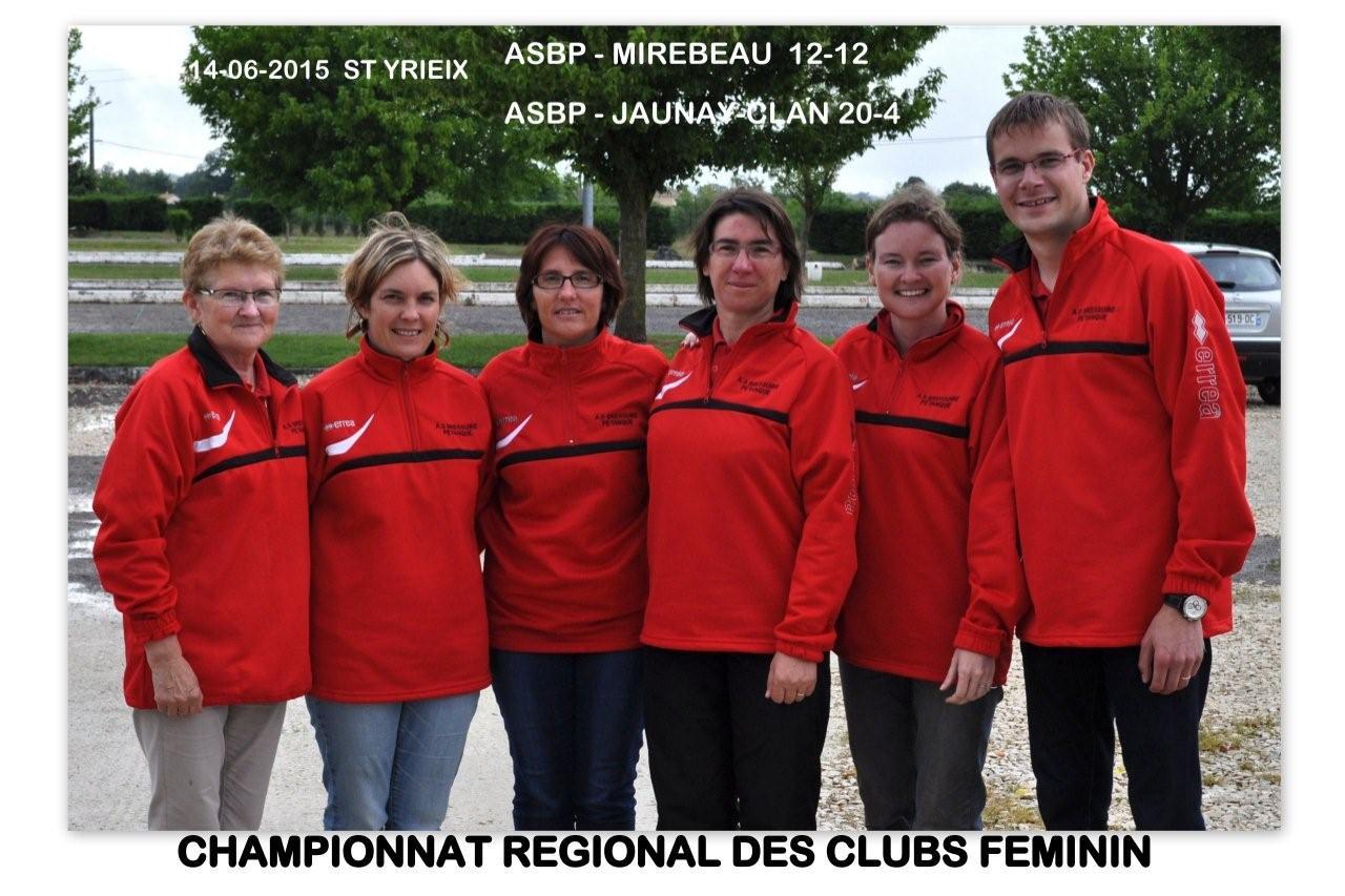 Championnat des clubs régional féminin